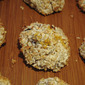 Lemon Coconut Cookies (butter, flour, sugar and egg free)
