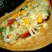 Weekend Gourmet Flashback: Mesquite Chicken Tacos with Creamy Corn Salsa
