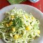 Mexican Slaw Recipe with Mango, Avocado & Cumin Dressing for Cinco de Mayo