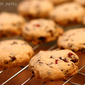 Chocolate Cranberry Shortbread Cookies
