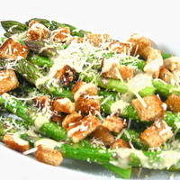 Caesar Asparagus, Low in Calories, Big on Deliciousness