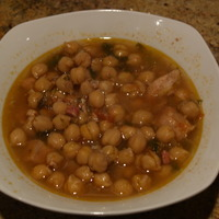 Pork & Chickpea Stew