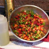 Strawberry Jicama Salsa