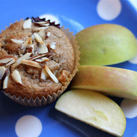 Healthy and Delicious Blueberry Apple Muffins