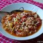 Italian Bread & Veggie Soup