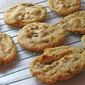 Gluten Free Chewy Chocolate Chip & Walnut Cookies: Egg-Free Also!