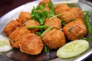Shrimp and Pork patties