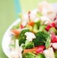 Raw Vegetable Salad for a Crowd