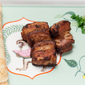 Spicy Crispy Pork With Coconut Crepes