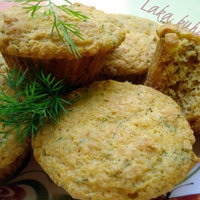 Chive and dill muffins