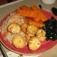 Pan Seared Tofu Scallops