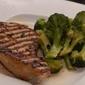 10/27/09 - Ginger Miso Glazed Tuna w. Soy Parmesean Broccoli