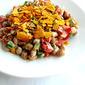 Bellpeppers & Boiled Peanut Salad