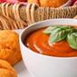Potato and tomato soup