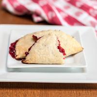 Raspberry Crescent Mini Pies