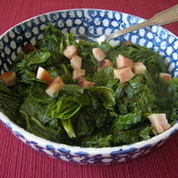 FRESH MUSTARD AND TURNIP GREENS