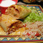 "Recipe: Oven ""Fried"" Chicken Chimichangas"