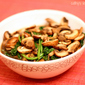 Sauteed Spinach and Mushrooms