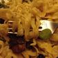 Morel and Fava Bean Fresh Pasta