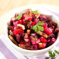 Guest Post: Beet and Carrot Salad with a Caramelized Onion Vinaigrette