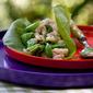 Market Matters: Sugar Snap Peas & Shrimp Salad Lettuce Wraps