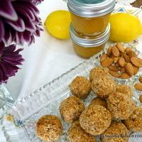 AlmondCoCitretti cookies -- Coconut Almond Citrus Marmalade amaretti.