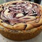 Berry swirled Cheesecake