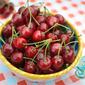 Fresh Picked Cherries in Limoncello