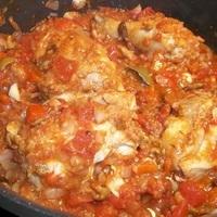 West Indies Pollo Criollo (Creole Chicken)