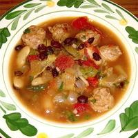 Mom's Sausage & Bean Soup