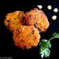 Sweet Corn Vadai (With Urad Dal)