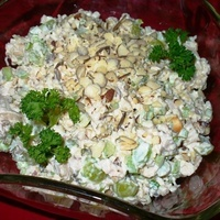 Chicken with Grapes and Almonds Salad and Sandwich Filling