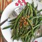 Garlic Long (Green) Beans with Sesame Seeds 蒜炒芝麻香四季豆