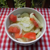 Cucumber Vinegar Salad