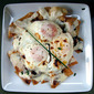 Fried Egg Sandwich Nachos