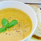 Butternut and orange soup