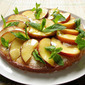 Mascarpone Peach Cake