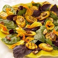 Market Matters- Grilled Summer Squash with Purple Basil Salad