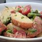 New Potatoes and Asparagus with Lemony Garlic Herb Mayonnaise Salad