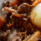 Beef Bourguignon…..my fancy beef stew meal.