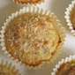 Banana and Coconut Cupcakes (butter and sugar free)