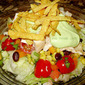 Too Hot to Cook Southwest Inspired Chicken Salad with Creamy Avocado Dressing