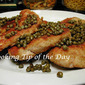 Recipe: Breaded Pork Cutlets (Schnitzel) with Capers