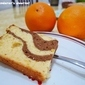 Chocolate Orange Marble Chiffon Cake