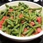 Green Beans with Basil and Tomato