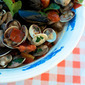 Recipes from the Sea: Mussels & Clams in White Wine {Cozze e Vongole}