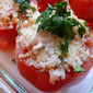 Stuffed Tomatoes With Arborio Rice And Shrimp