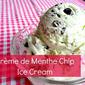 Crème de Menthe Chip Ice Cream Recipe