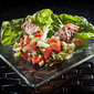 Greek Salmon Lettuce Cups