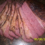 Grub Rubbed and Smoked Corned Beef Brisket